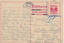 M 1  Postkarte Österreich 24 Groschen Gelaufen 1929 - 1918-1945 1ère République