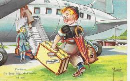 AK 0005  De Sepp Reist Uf Amerika - Humor Um 1950 - Humor