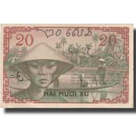 Billet, FRENCH INDO-CHINA, 20 Cents, Undated (1939), KM:86c, SPL - Indochine