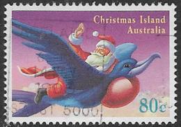 Christmas Island SG406 1995 Christmas 80c Good/fine Used [38/31204/6D] - Christmas Island