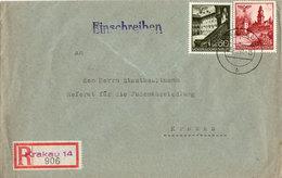 Referat Für Die Judenaussiedelung Beim Stadthauptmann Krakau V. 20.10.1940 - Allemagne