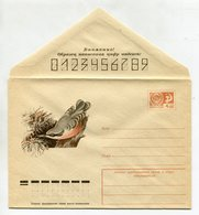 COVER USSR 1974 NUTHATCH #74-77 - Sparrows