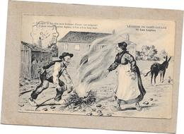 DEPT 58 - LEGENDE DE SAINT SAULGE - Les Lapins  - ROUIL** - - Francia
