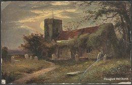 Chingford Old Church, Essex, 1907 - Hildesheimer Postcard - England