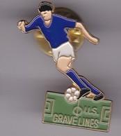 Pin's  Club DE GRAVELINES - Football