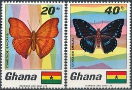 Ghana  Vlinders - Vlinders