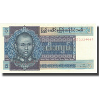 Billet, Birmanie, 5 Kyats, Undated (1979), KM:57, SPL+ - Myanmar