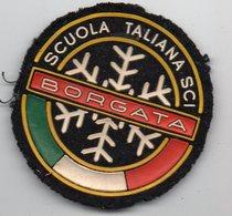 Borgata (Italie) écusson Tissus Escola Italiana Ski (PPP14358) - Patches