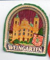 Weingarten (Allemagne)  écusson Tissus  Plastifié  (PPP14359) - Patches