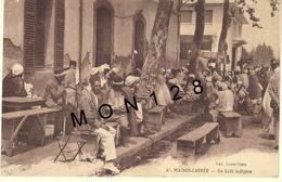 ALGERIE-ALGER-MAISON CARREE / EL HARRACH - UN CAFE INDIGENE - Algiers