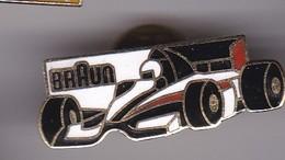 Pin's BRAUN - F1