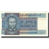 Billet, Birmanie, 5 Kyats, Undated (1973), KM:57, SUP+ - Myanmar