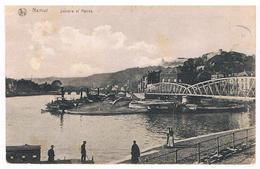 CPA :  NAMUR - Sambre Et Meuse -  Confluent Et Passerelle Du Tram , Barque Du Passeur - Namur