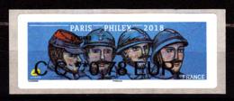 Atm-Lisa / Ecopli  CC 0.78 € Nabanco / Poilus, 14-18, WWI / Paris-Philex 2018 - 2010-... Illustrated Franking Labels