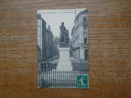 """Chalon-sur-saône , Statue Nicéphore Niepée """" Carte Animée Enfants Au Pied De La Statue """" - Chalon Sur Saone"""