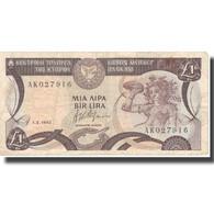 Billet, Chypre, 1 Pound, 1992, 1992-02-01, KM:53b, TB - Cyprus