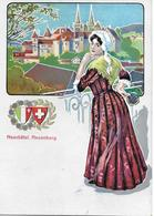 NEUCHATEL → Neuenburger Trachtenfrau Ca.1910 - NE Neuenburg