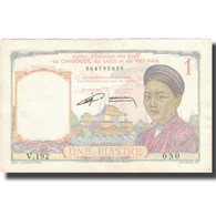 Billet, FRENCH INDO-CHINA, 1 Piastre, Undated (1953), KM:92, SUP - Indochina
