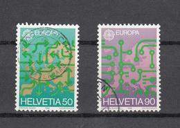 1988    N° 763-764   OBLITERES      CATALOGUE  ZUMSTEIN - Suisse