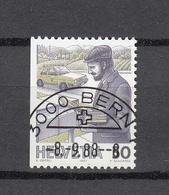 1988    N° 738 H   OBLITERE      CATALOGUE  ZUMSTEIN - Suisse