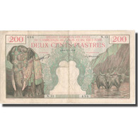 Billet, FRENCH INDO-CHINA, 200 Piastres = 200 Riels, UNDATED 1957, KM:98, TTB - Indochine