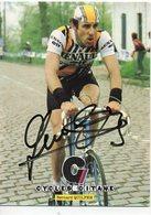 CYCLISME TOUR  DE  FRANCE  Autographe  BERNARD QUILFEN - Radsport