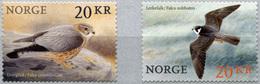 Norway. 2017. Birds (III) (MNH OG **) Set Of 2 Stamps - Nuovi