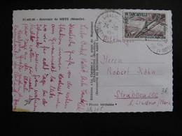 S/L 305 - TB C.P. Affranchie Avec N°1215 ;  De Giraumont Pour Strubbensec ( 24/10/1959) - Marcophilie (Lettres)