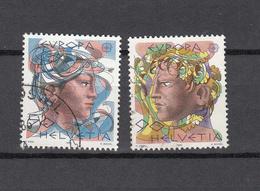 1986    N° 725 - 726  OBLITERES      CATALOGUE  ZUMSTEIN - Suisse