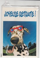 CARTE DE VOEUX - JOYEUSE RETRAITE - Non Ecrite - Stagioni & Feste