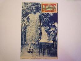 GABON  -  PORT-GENTIL  :  Une élégante  -  Beau Plan   1928   XXXX - Gabon