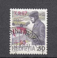 1986    N° 66  OBLITERE      CATALOGUE  ZUMSTEIN - Suisse