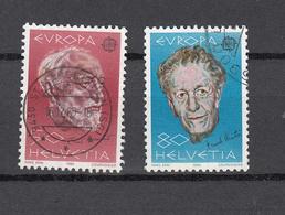 1985    N° 715-716 OBLITERES      CATALOGUE  ZUMSTEIN - Suisse