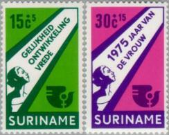Suriname 1975 International Year Of The Woman - NVPH 644 MNH** Postfris - Suriname ... - 1975