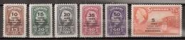 Suriname 1945 Steunfonds NVPH 214-219 MNH/** See Description! - Suriname ... - 1975