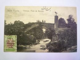 IRAN  -  Route  ENZELLY  -  TEHERAN , PONT De  RESCHT   1926   XXX - Iran