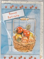 CARTE DE VOEUX - BONNE RETRAITE - Non Ecrite - Stagioni & Feste
