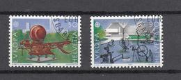 1987    N° 748 - 749   OBLITERES      CATALOGUE  ZUMSTEIN - Suisse