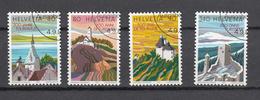 1987    N° 753 à 756   OBLITERES      CATALOGUE  ZUMSTEIN - Suisse