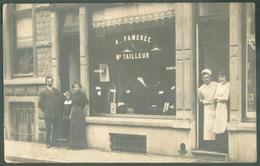 Carte Phot A. FAMEREE TAILLEUR -vue Du Magasin + 5 Personnes - 13094 - Belgique
