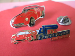 PIN'S  LOT   FERRARI - Ferrari
