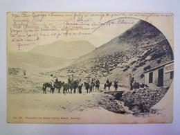 VIAJE CORDILLERA  N°19  :  La CALAVERA   1904   XXXX - Chile