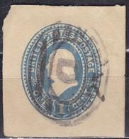 United States, 1887/94 - 1c Franklin - U294 Usato° - Used Stamps