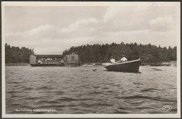 Marholmens Folkbildningshem, Norrtälje, C.1920s - Foto Vykort - Sweden