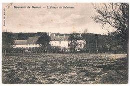 CPA Dos Non Divisé Rare : NAMUR SALZINNES  L'Abbaye - Namur