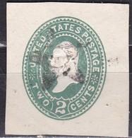United States, 1887/94 - 2c Washington - U311 Usato° - 1847-99 Emissioni Generali