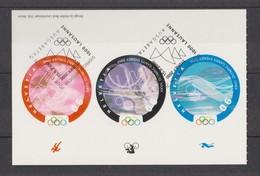 SUISSE Service  2000 :    CIO, 3 Valeurs à 90c, Oblitlérés 1er Jour, TB - Olympische Spiele