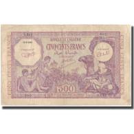 Billet, Algeria, 500 Francs, 1944, 1944-09-15, KM:95, TB+ - Algérie
