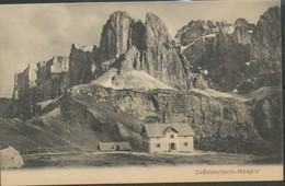 Österreich   Ansichtskarte  - Grödnerjoch - Hospiz - Ansichtskarten