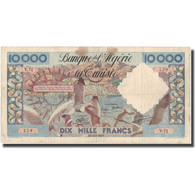 Billet, Algeria, 10,000 Francs, 1955, 1955-11-16, KM:110, TB - Algérie